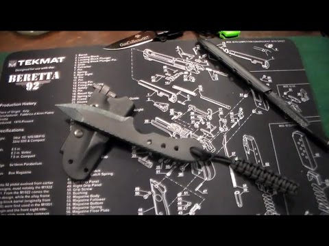 Non Metallic Fixed Blade Knife