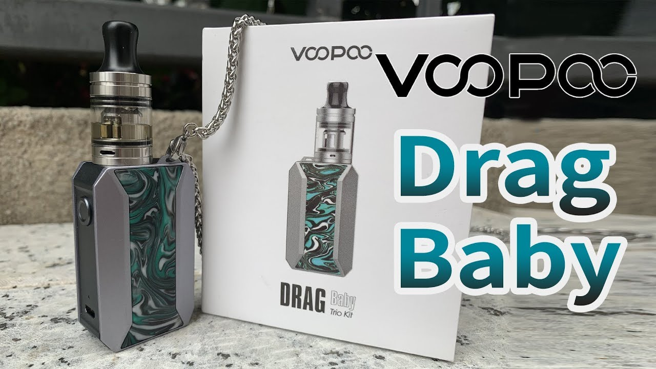 VOOPOO Drag Baby Trio Kit | Vapesourcing Unboxing
