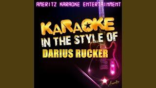 Alright (In the Style of Darius Rucker) (Karaoke Version)