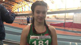 Марина Шинкевич-200м Первенство РБ Могилев 2018