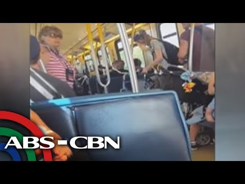 ANC Alerts: Commuters defend Pinoy couple from 'racist' co-passenger in Canada