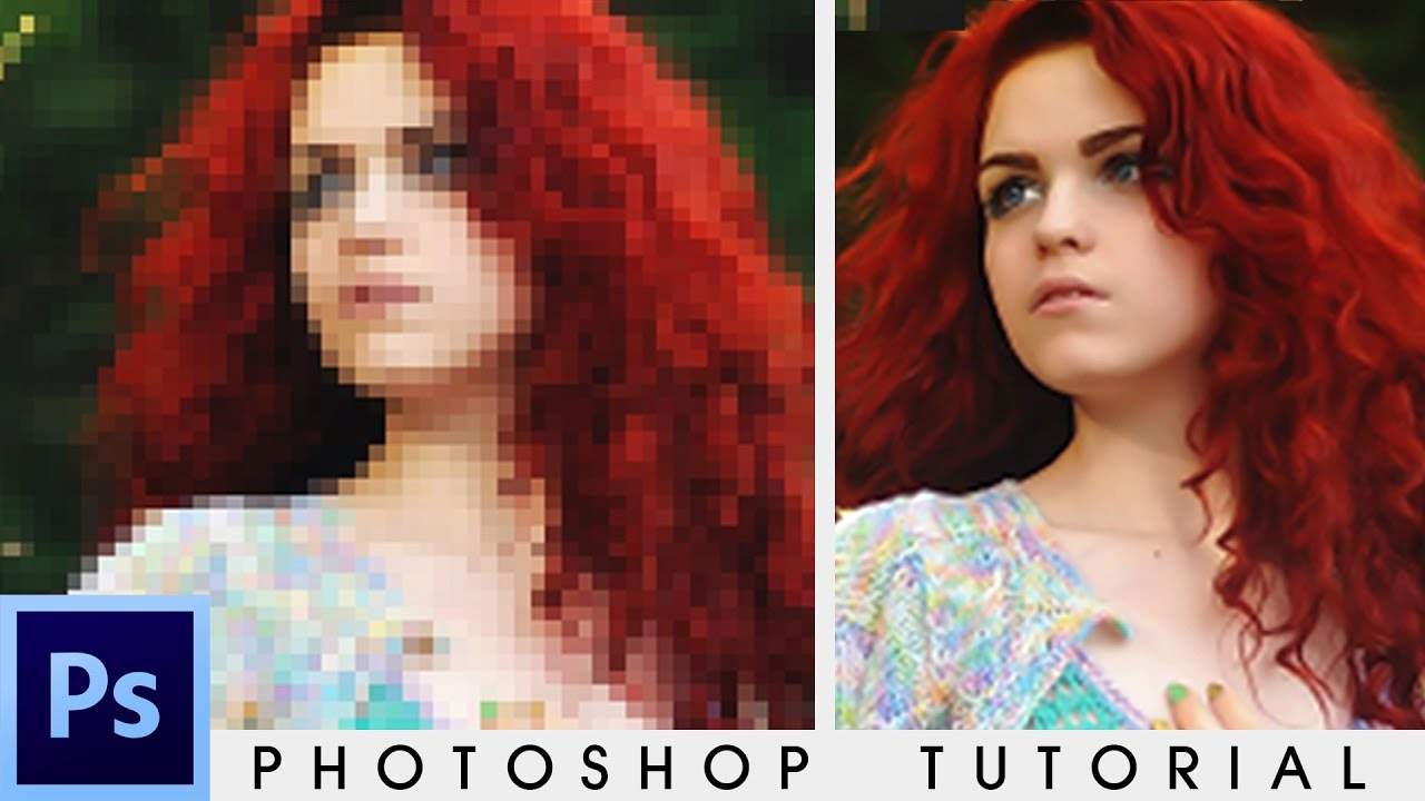 how to fix quaility of photo on photoshop