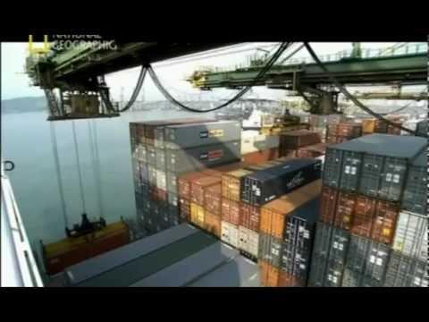 Суперсооружения. Крупнейший порт мира   Worlds Busiest Port