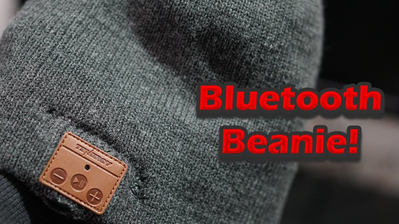 Tenergy Bluetooth Beanie Review!  f9d665f3aa7