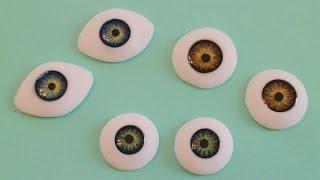 Реалистичные глаза для кукол своими руками(В этом видео мастер-классе вы узнаете как самостоятельно изготовить глаза для кукол из полимерной глины..., 2016-03-07T19:37:12.000Z)