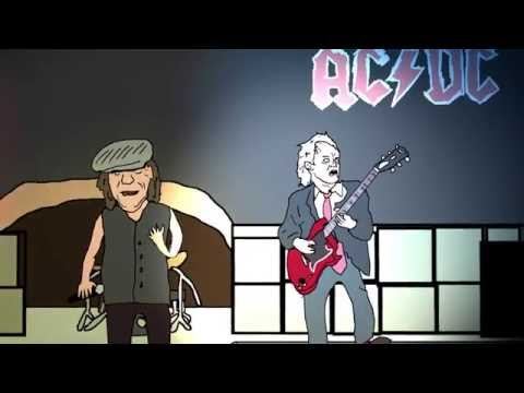 Every ACDC song ever made in one song