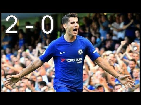 Chelsea vs Everton 2 - 0 (RESUMEN) Premier League  27/08/2017 ᴴᴰ