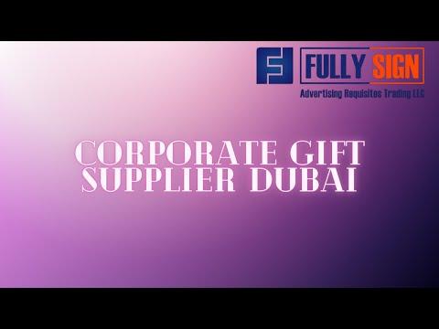 Corporate Gift Supplier Dubai