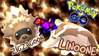 POKEMON GO GEN 3 EVOLUTION * ZIGZAGOON 👉 LINOONE