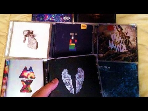 Coldplay CD Discography / Collection