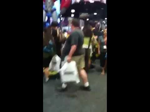 The Crowds At Comic Con 2012