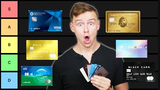 Credit Card Tier List (Best Credit Cards Ranked)
