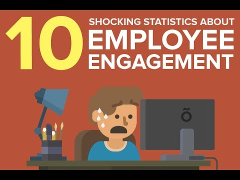 10 Shocking Statistics About Employee Engagement!