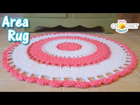 Beautiful Area Rug – Crochet Tutorial