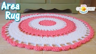 Beautiful Area Rug - Crochet Tutorial