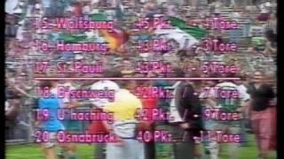 Abstiegskampf 2. Bundesliga 1992 / 1993 Nord 3