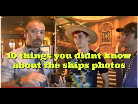 10 things you never knew about the onboard ships photographers