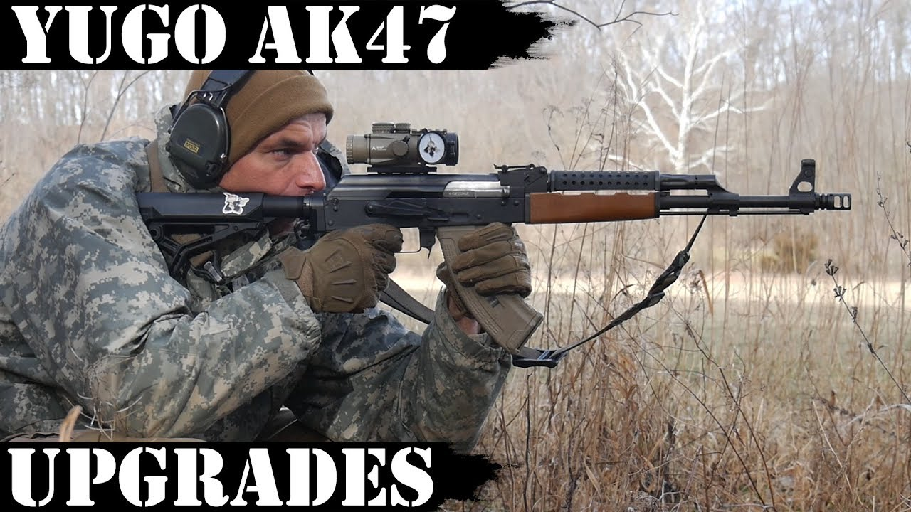 Yugo AK47 Upgrades - M4 Stock Adapter, Optics and More!
