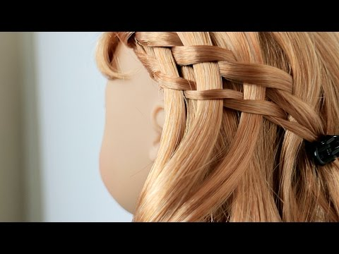 Doll Hair: How to do a Waterfall Twist Braid