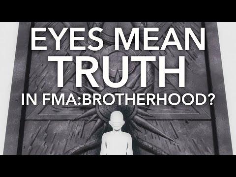 Eyes Convey Truth in Fullmetal Alchemist: Brotherhood
