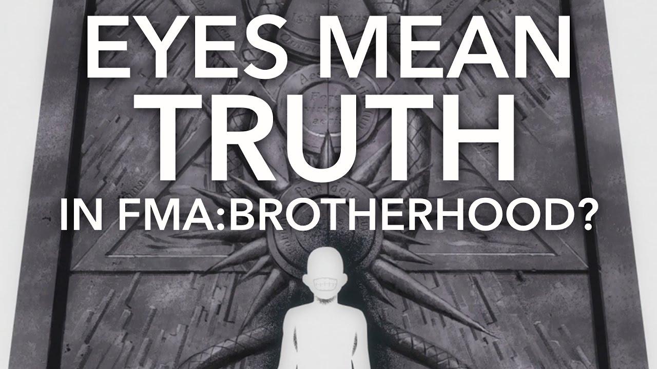 Eyes Convey Truth In Fullmetal Alchemist Brotherhood Youtube