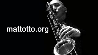 Sax Lesson 20: V7 to i minor using -3rds and -2nds