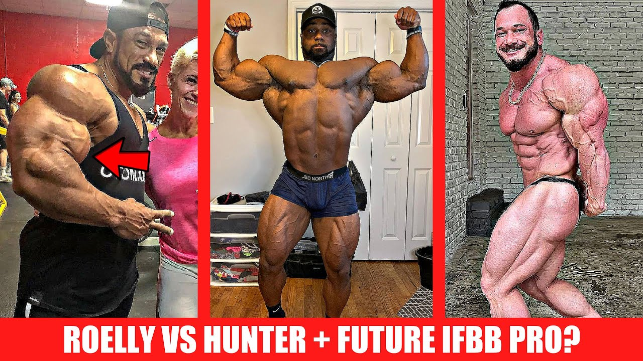 Roelly VS Hunter in Chicago + Future IFBB Pro w/ Crazy Genetics + Jujimufu 330lb STRICT CURL + MORE