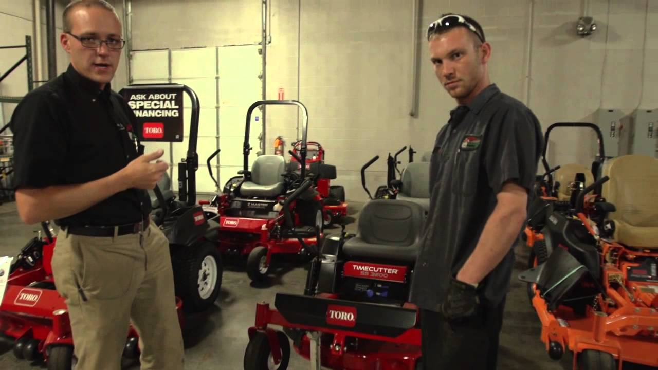 How to Take the Blades off of a Toro Timecutter Mower from Moe's Outdoor  Equipment & Supplies (2013)