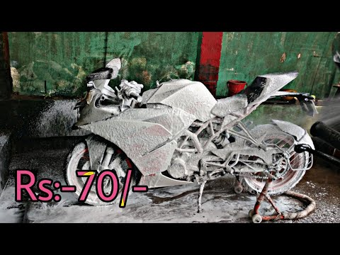 FOAM WASH || KTM RC 200 || KTM || RC 200 || CHAIN CLEAN || KTM BOYS 93
