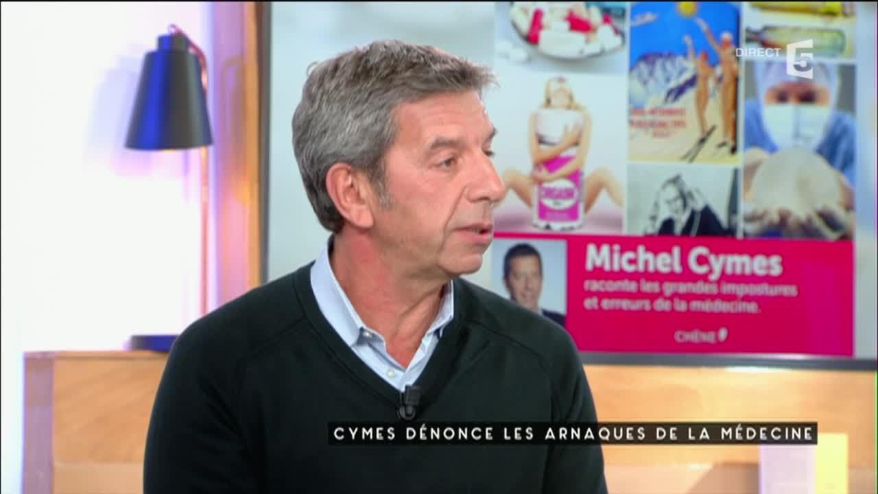 Cymes dénonce les arnaques en médecine - C à vous - 03/10/2016