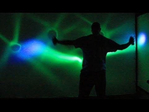 Light Painting Live – LIGHT ART by Alex Dowis – Centrum MEMORY 2014 video