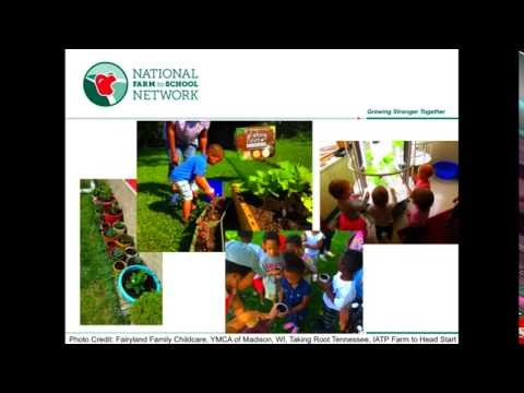 NOW Webinar:  Farm to Early Care and Education  Promising Strategies for Childhood Wellness