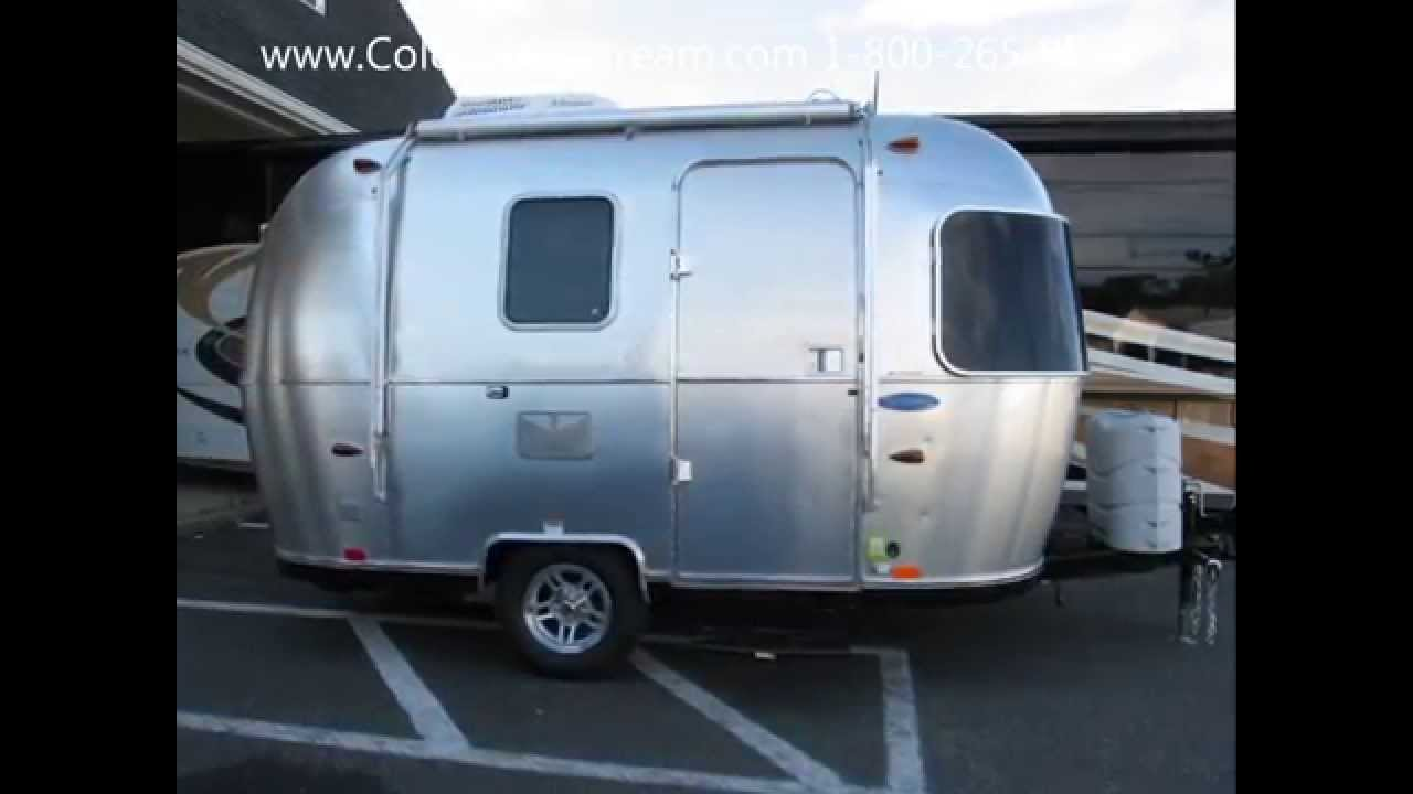 2015 airstream sport 16 bambi small camping light weight trailer prius youtube. Black Bedroom Furniture Sets. Home Design Ideas