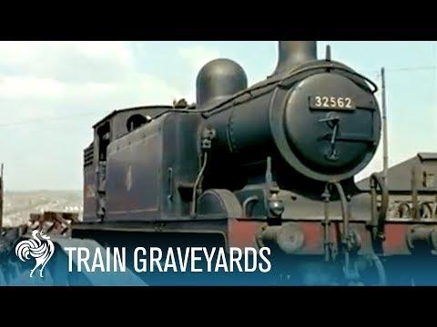 Train Graveyards | British Pathé