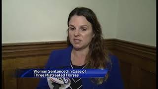 Afternoon update: Woman sentenced in horse neglect case; closings in Flynn trial