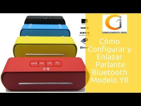 f3da3c26f26 Cóm Configurar Altavoz Bluetooth Inalámbrico y Portátil, Radio, Micro SD,  USB Y8 | Parlante Portátil - YouTube