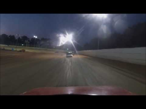 Moler Raceway Park 8-5-16 Compact Heat #3  View from #20 Ryan Barrett