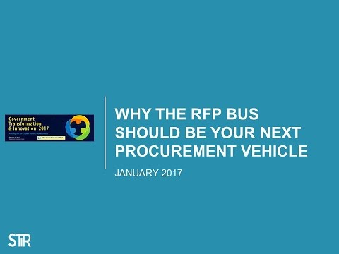 GTI2017 Sn27A: Why Your Next Procurement Vehicle Should Be a Bus - SF Mayor's Office