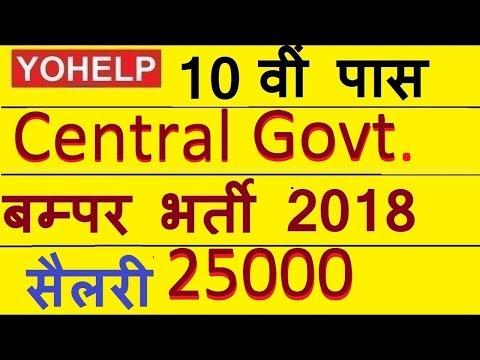 125 पदों पर 10 वीं पास बम्पर भर्ती | Defence Central Govt job 10th Pass | 125 Posts 10th Pass|
