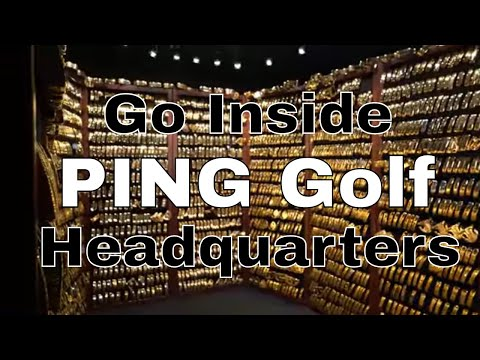 INSIDE PING GOLF   HOW THEY HAND BUILD CUSTOM IRONS