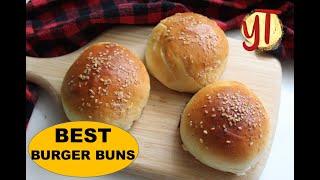 Perfect Burger Buns Recipe