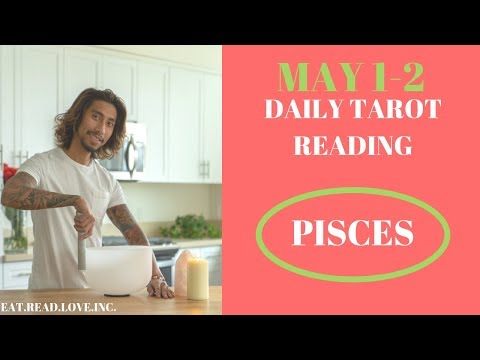 """PISCES - """"VERY TRICKY BUT WORTH IT"""" MAY 1-2 DAILY TAROT READING"""
