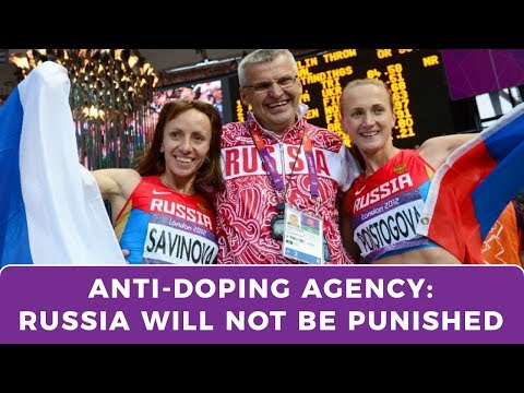 """The World Anti-Doping Agency: Russia should be """"treated the same as others"""""""