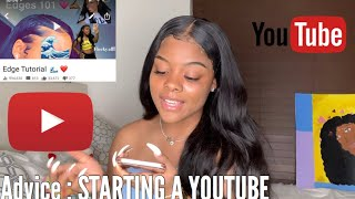 How to Start & Grow A Youtube Channel ? Tips 💞