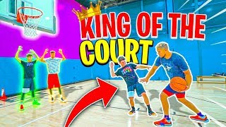 2HYPE KING OF THE COURT 3 Dribble 1v1 NBA Basketball Challenge !!