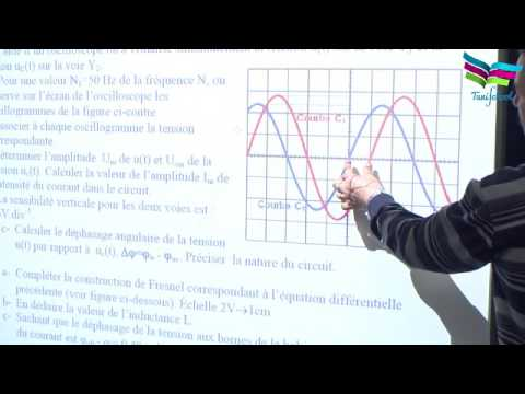 correction dexercice circuit rlc srie en rgime forc youtube - Resume Cours Science Bac Tunisie