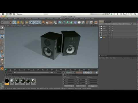 Cinema 4D Shadow Catcher plugin