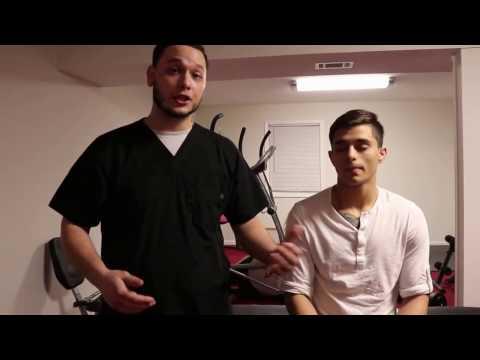 Rafael Onate Sports Massage Therapy on MMA fighter 2