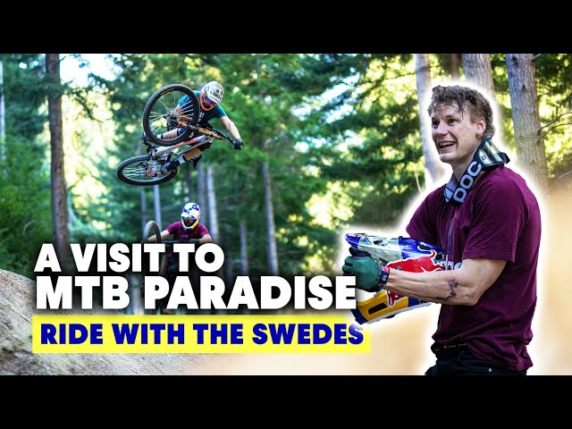 Why Is New Zealand A Mountain Biker's Paradise? | Ride With The Swedes S2E1
