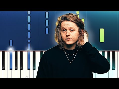 Lewis Capaldi - Someone You Loved Piano Tutorial